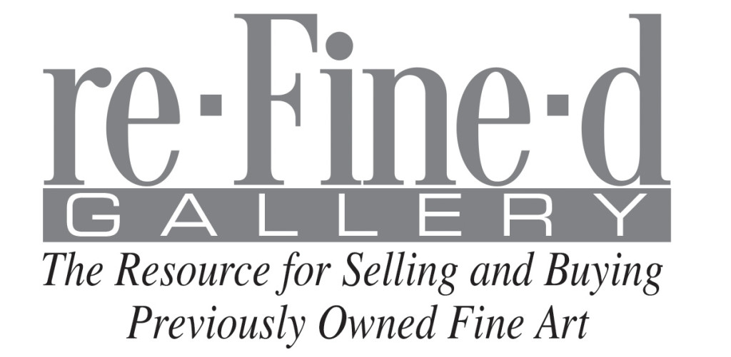 re-Fine-d Gallery the resource for selling and buying previously owned fine art
