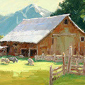 Jean Perry painting portfolio Columbine Gallery Loveland Colorado art