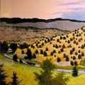 Roy Wilce painting portfolio Columbine Gallery Loveland Colorado art