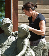 Jane DeDecker bronze sculptor loveland, colorado figurative art