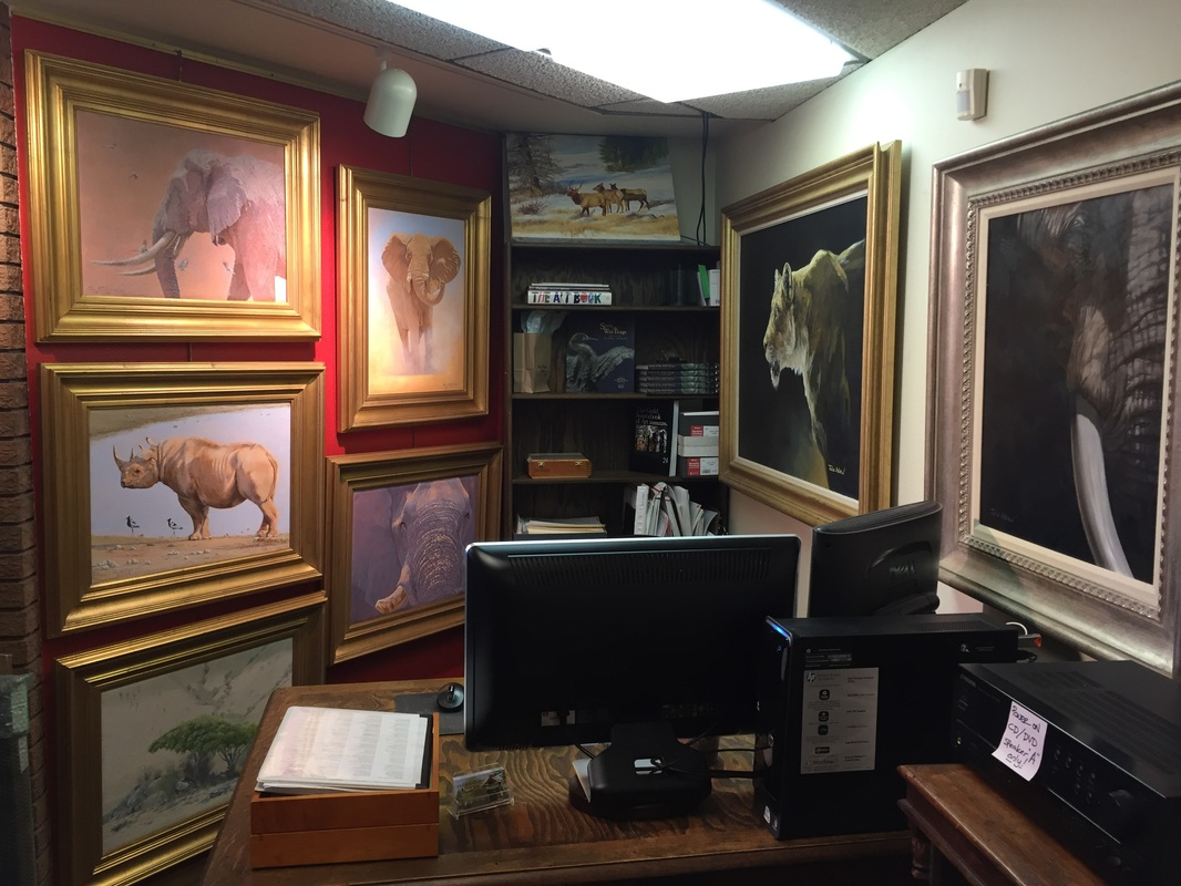 Last chance to own art from a Weekend for Elephants show before the art heads to a new exhibit