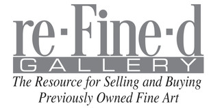 re-Fine-d Gallery the resource for selling and buying previously owned fine art. part of the Governor's Art Show of Colorado