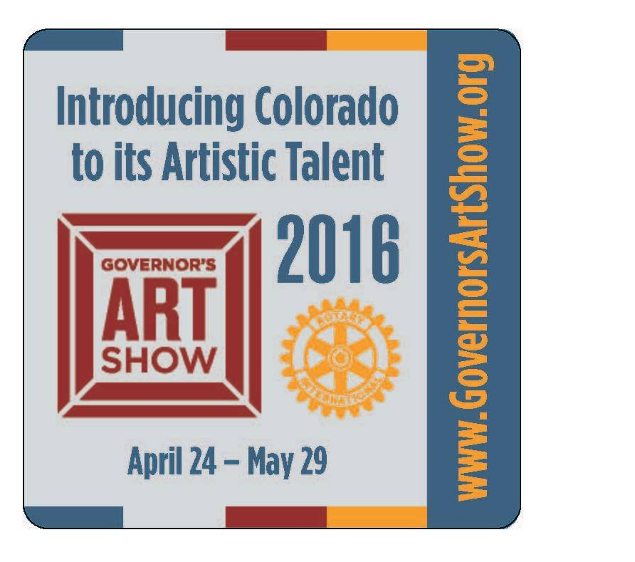 Governor's Art Show 25th Anniversary featuring many Columbine Gallery Artists April 24- May29