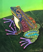 We have new amphibian paintings from Bob Coonts too!