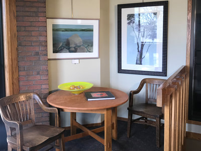 It's official, we have upstairs neighbors, we've cleared out the top floor (except for a few large paintings). The gallery is now just the first floor.   ​Please welcome Berkshire Hathaway HomeServices to the building. We're excited to have this energetic bunch of real estate agents reinvigorate the upstairs.  Not to worry, we still have all our 45 artist's artwork on display, and we think the gallery and NSG sculpture garden look better than ever.  Stop by and see all the changes we've made, or shop online.  #ChChChanges #BerkshireHathaway #LiveWithArt