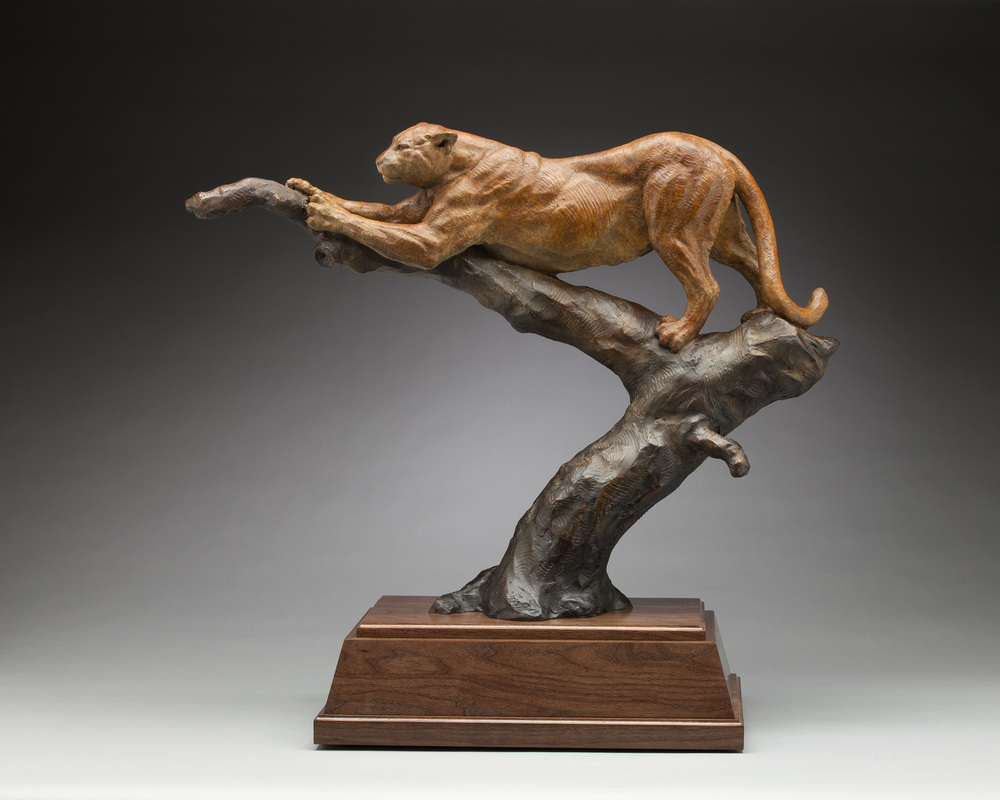 Tree Top Stretch is available as a monument or maquette through Columbine Gallery click here to order online
